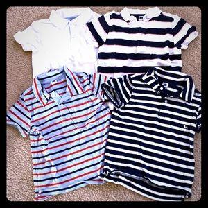 Janie and Jack polo tshirt set